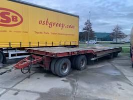 lowloader trailer Nooteboom Dieplader 4 asser   Langzaamverkeer/verbreedbaar / bladgeveerd