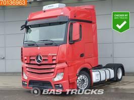 mega-volume tractorhead Mercedes-Benz Actros 1845 LS 4X2 Mega Standklima 2x Tanks Alcoa's EEV 2013