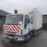 closed box truck Iveco Eurocargo 90E17 2006