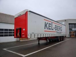 sliding curtain semi trailer Kel-Berg 34 pl. m/lift 2015