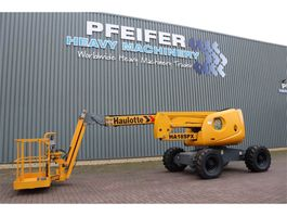 articulated boom lift wheeled Haulotte HA18SPX Diesel, 4x4 Drive, 17.3m Working Height, 1 2007