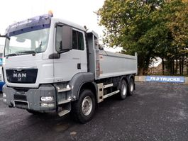 tipper truck > 7.5 t MAN TGS26.360 6x4 HARDOX TIPPER INSULATED