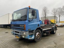 container truck DAF CF 75.290 haakarm, manual, Euro 2 1998