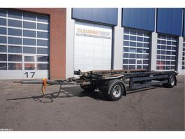 container chassis trailer Meiller MK 18 ZL 5.4 2013