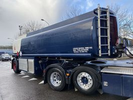 tank semi trailer semi trailer Burg BPO 12,5-10 + FUEL TANK 26.400 LITER - 4 COMPARTMENTS 1991