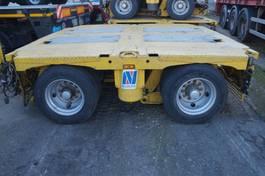Tieflader Auflieger Nicolas Heavy duty modules 2006