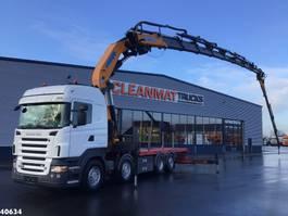 crane truck Scania R500 Effer 85 ton/meter laadkraan + Jib 2007