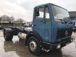 container truck Mercedes-Benz 1919 V6 **FULL STEEL-BIG AXXLE-FRENCH TRUCK** 1979