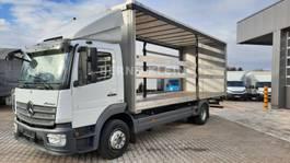 sliding curtain truck Mercedes-Benz ATEGO 1324 L,Luftfederung, AHK, Schiebeplane