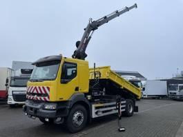 crane truck Renault KERAX HIAB 122 HI-DUO RADIOCONTROL !!! 2003