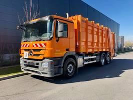 garbage truck Mercedes-Benz Actros 2536 ZOELLER Müllwagen 2012