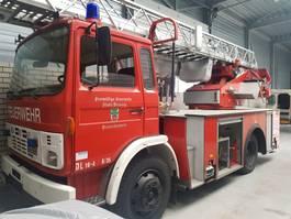 fire truck DAF 1300 1986