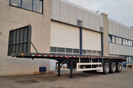 Container-Fahrgestell Auflieger CIMC 3 AXLE FLATBED TRAILER (18 units)
