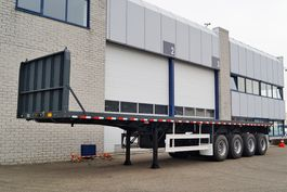 Container-Fahrgestell Auflieger CIMC 4 AXLE FLATBED TRAILER (9 units)