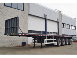 Container-Fahrgestell Auflieger CIMC 4 AXLE FLATBED TRAILER (16 units)