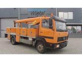 crane truck Mercedes-Benz 1117 Falck Schmidt T2014 14 METER 1996