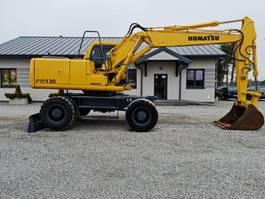 wheeled excavator Komatsu PW130ES-6K