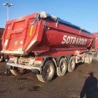 tipper semi trailer MOL Kipper 2008