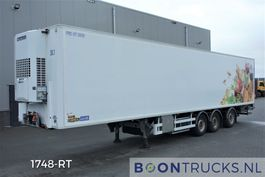 refrigerated semi trailer Chereau CSD3 - INOGAM * FRIGOBLOCK | 3 COMPARTMENTS * 2T TAILGATE * STEERING + LIFT 2013