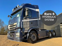 cab over engine Iveco Stralis 560 6x2 hydr. system 2016