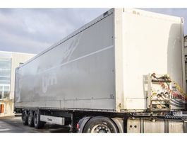closed box semi trailer Krone SD 27 - FOURGON 2010