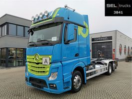 container truck Mercedes-Benz Actros 2551/Meiller-Kipper/Lenkachse/Xenon/NAVI