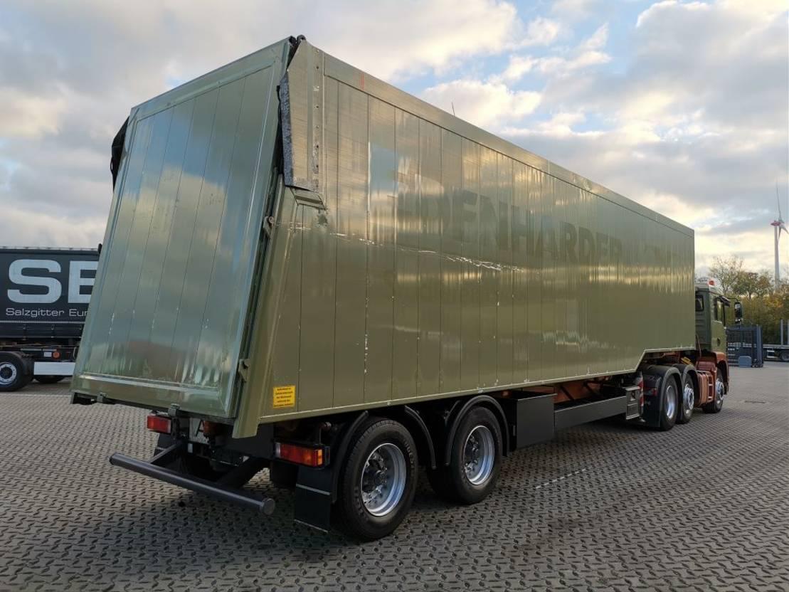 Kippauflieger Kempf SKM 32/2 AK / Glasrecycling mit SZM