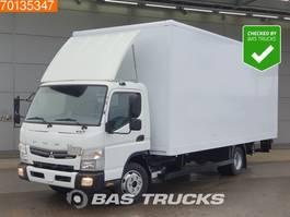 closed box truck Mitsubishi Canter Fuso 7C18 4X2 Ladebordwand Euro 6 2016