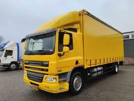 tilt truck DAF CF 65 -220 4x2 Dagcabine EEV - SchuifzeilenBak 7.75m - Schuifdak - Nieuwe Zeil... 2013