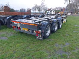 container chassis semi trailer Pacton T3-010 2008