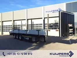 flatbed semi trailer Krone 3-Assige Plateau Trailer / Bordwand / Rongen / BPW / Liftas 2010