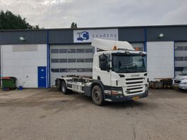 container truck Scania P380 6x2 haakarmsysteem NIEUWE APK 2007