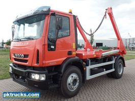 container truck Iveco Eurocargo ML170E22H 4x2 Container Skip Loader - NEW (2 Units) 2016