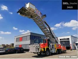 fire truck MAN FE 27.410 /6x6 / Rettungstreppe 2004