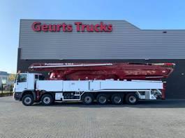 concrete pump truck Mercedes-Benz Actros 6560 12X6 WITH 62 METER PUTZMEISTER CONCREET PUMP 2010