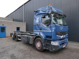 container truck Renault PREMIUM 450 DXI MULTILIFT XRS 6x2 2011