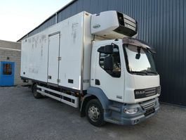 refrigerated truck DAF LF55 220 CARRIER SUPRA MULTITEMPERATURE EURO 5 3 ROOMS/CHAMBRES 3 STUCK/PIECES 2008