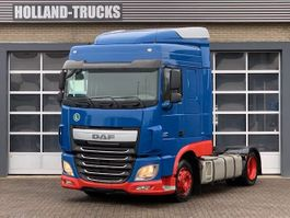 mega-volume tractorhead DAF XF460 - Lowdeck - Intarder - German truck 2015