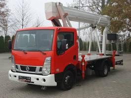 mounted boom lift truck Nissan 4x2 E6 Hubarbeitsbuehne Ruthmann 25M!