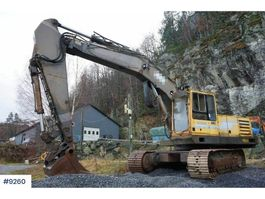 crawler excavator Volvo Åkerman EC300 Excavator with extra arm and bucket. 1994