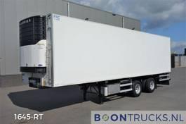 refrigerated semi trailer Van Eck UT-2BI - CARRIER MAXIMA 1200   STEERING AXLE * LIFTAXLE * APK 07-2021 2002