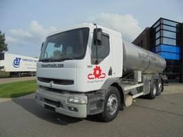 tank truck Renault Premium 370 DCI / 6x2 / Water Tank / 15.000 L / Manual 2002
