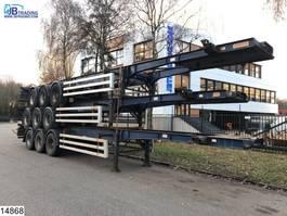 container chassis semi trailer Dennison Container Set prijs 3 units = 10000 euro, 40 FT 2004