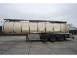 tank semi trailer semi trailer Feldbinder 3 AXLE FOOD / CHEMIE TANK TRANSPORT TRAILER 1998