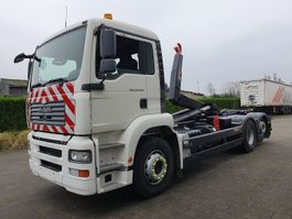 container truck MAN TGA 26.350 6X2 CONTAINER SYSTEEM- CONTAINER SISTEEM- CONTAINER HAAKSYSTEEM- SYSTEME CONTENEUR 2006