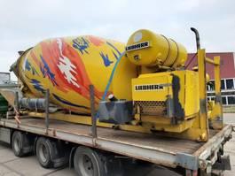 concrete mixer attachment Liebherr 10 m3 mixer op afzetsysteem 2007
