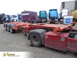 container chassis semi trailer Broshuis 3UCC-39 + 3 AXLE 1993