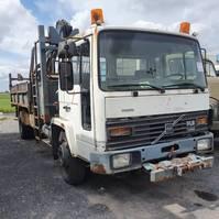 tipper truck > 7.5 t Volvo Fl 614 2001