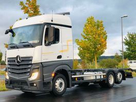 chassis cab truck Mercedes-Benz ACTROS 2540 / E6 / RETARDER / SOLO STAR 2014