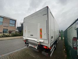 loading tray truck part Renault gesloten laadbak + dhollandia laadklep 1500kg